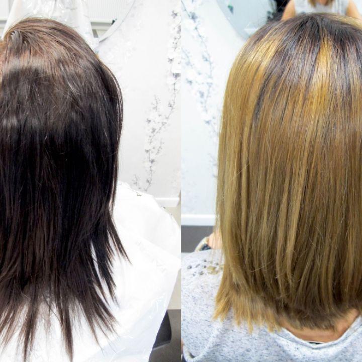 Koloryzacja I Strzyżenie Fryzjer Koloryzacja Prostowanie